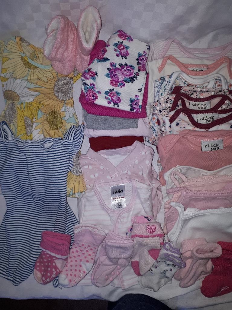 98 items girls clothes.