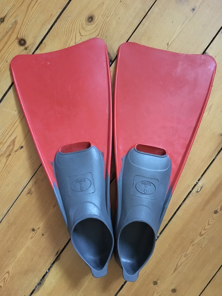 Collection of Second Hand Swim Fins