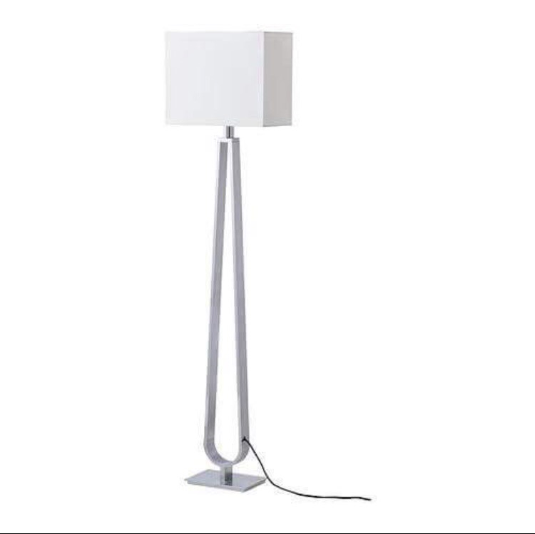 Floor Lamp - Silver Lamp