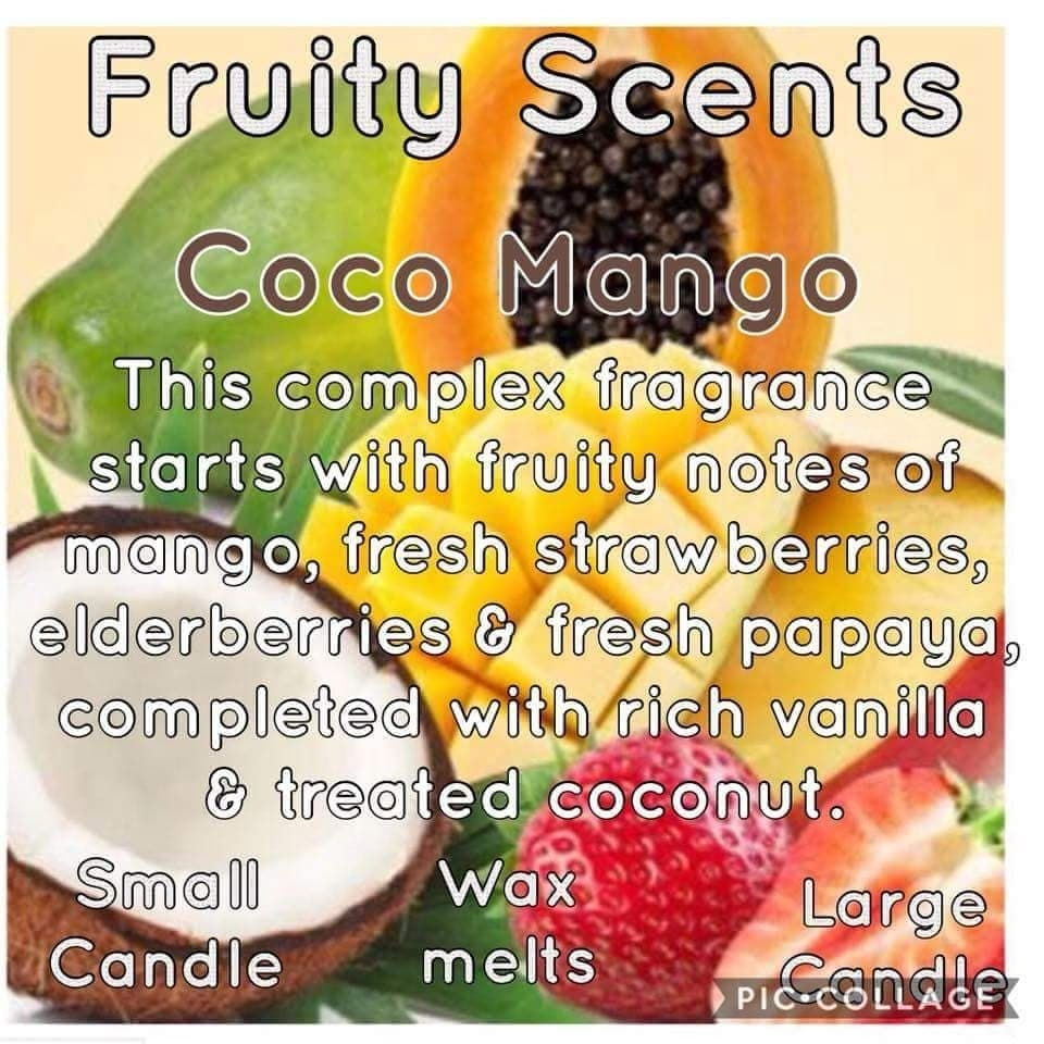 Fruit Scented Candles.