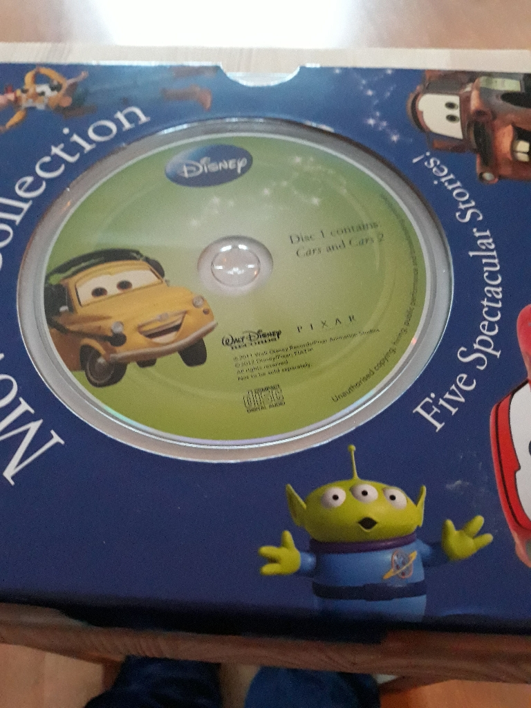 Movie Collection Disney/Cars/Toy story Pixar