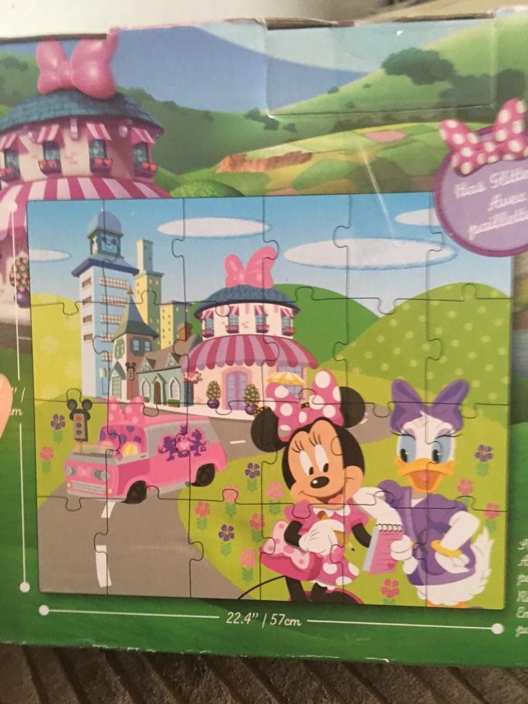 Minnie Mouse puzzle