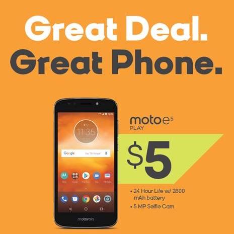 Motorola E5 Play