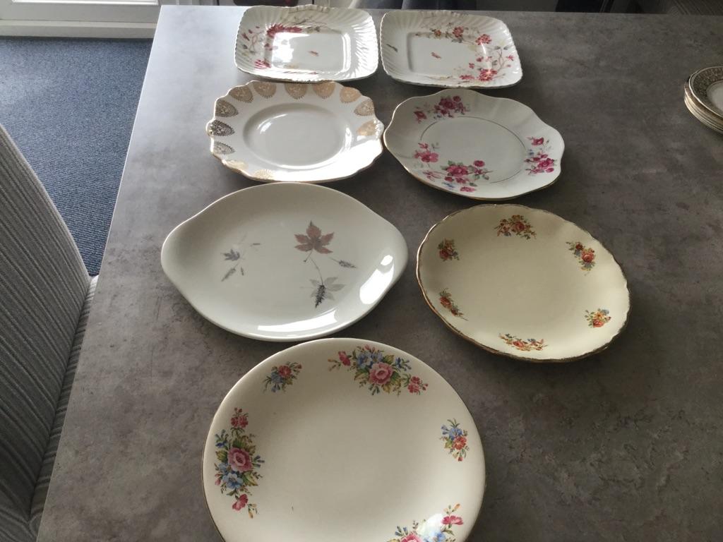 China Cake Plates