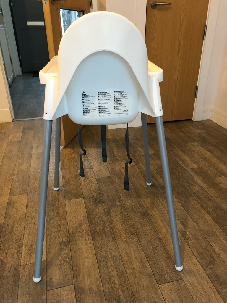 Ikea Antilop High Chair - with tray