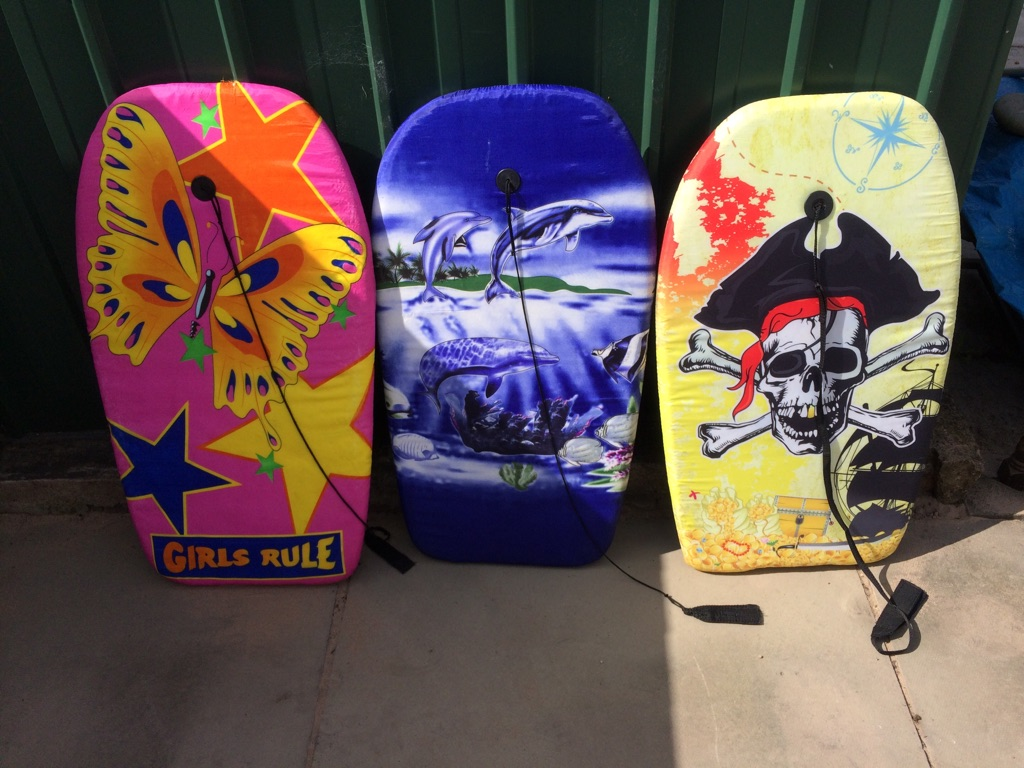 Children's body boards