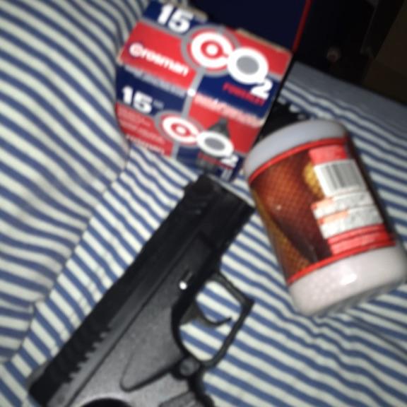 B.B. gun , co2