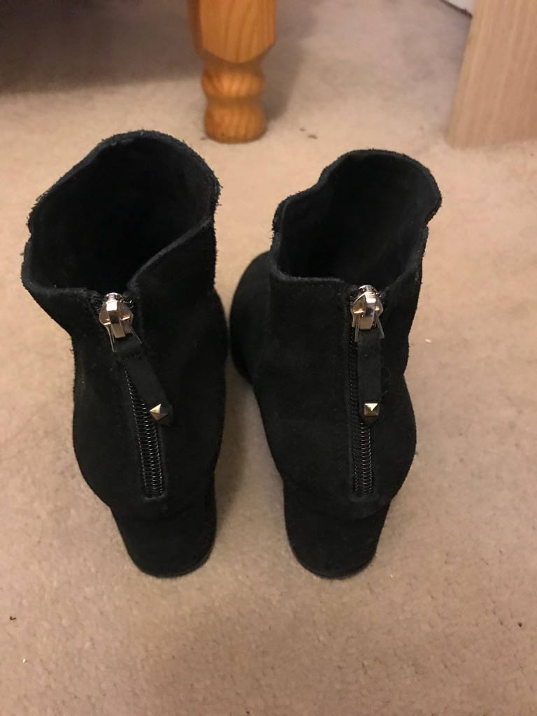 Ankle boots suede UK size 4 / EU 37/250mm