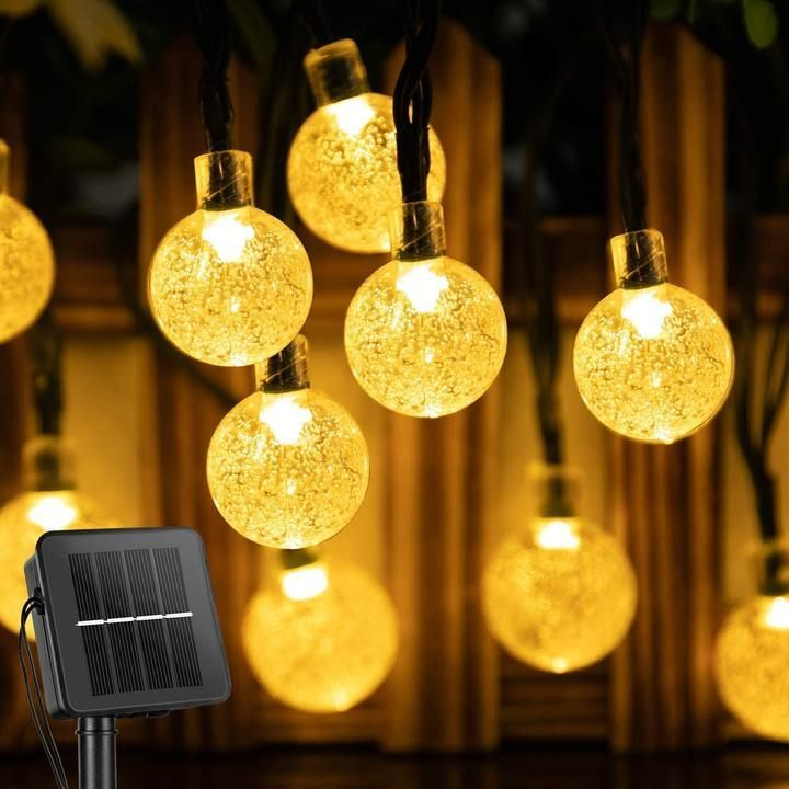 50 LED Solar Powered Garden Party- Warm White