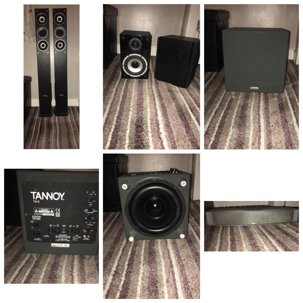 Home cinema surround sound system