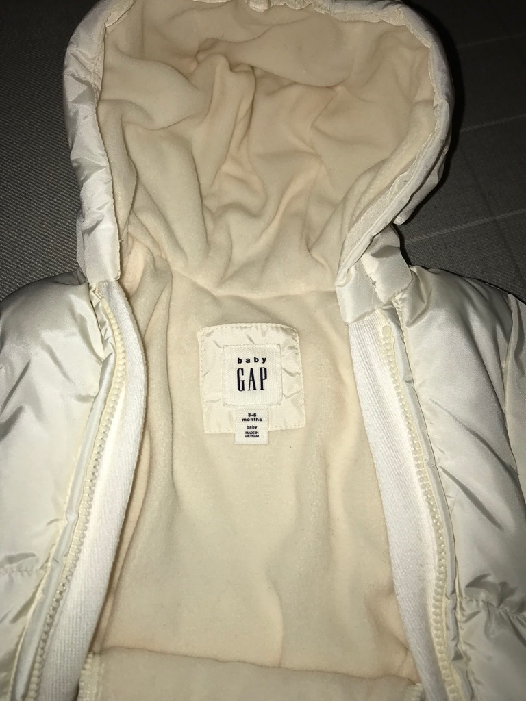 New GAP snow suit