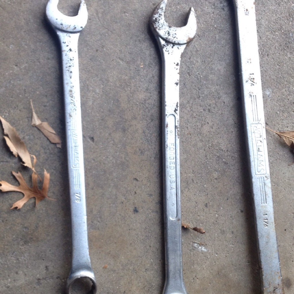 Machinists wrenches
