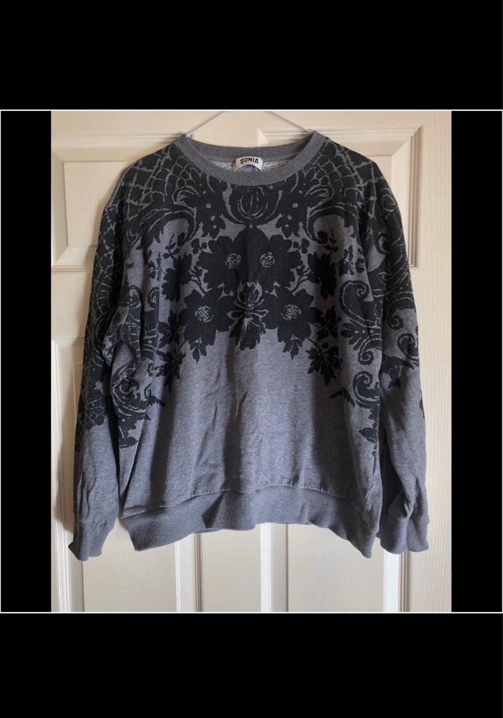 SONIA RYKIEL Lace Print women's Sweatshirt ❤️