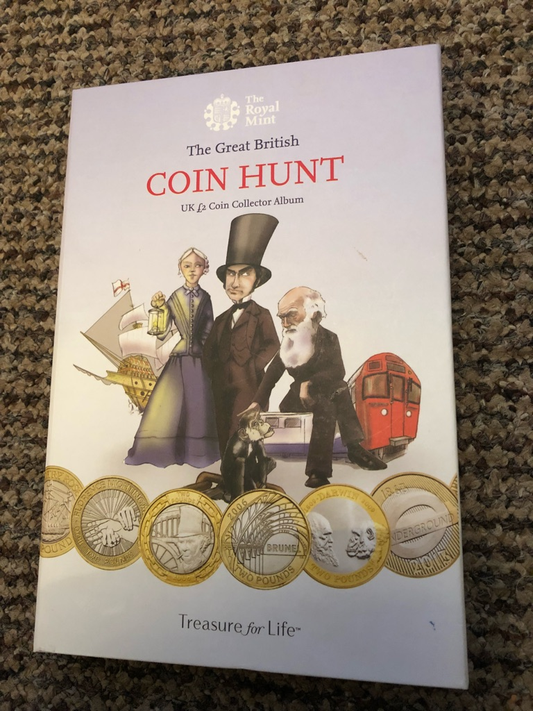 £2 coin book with all 39 coins.