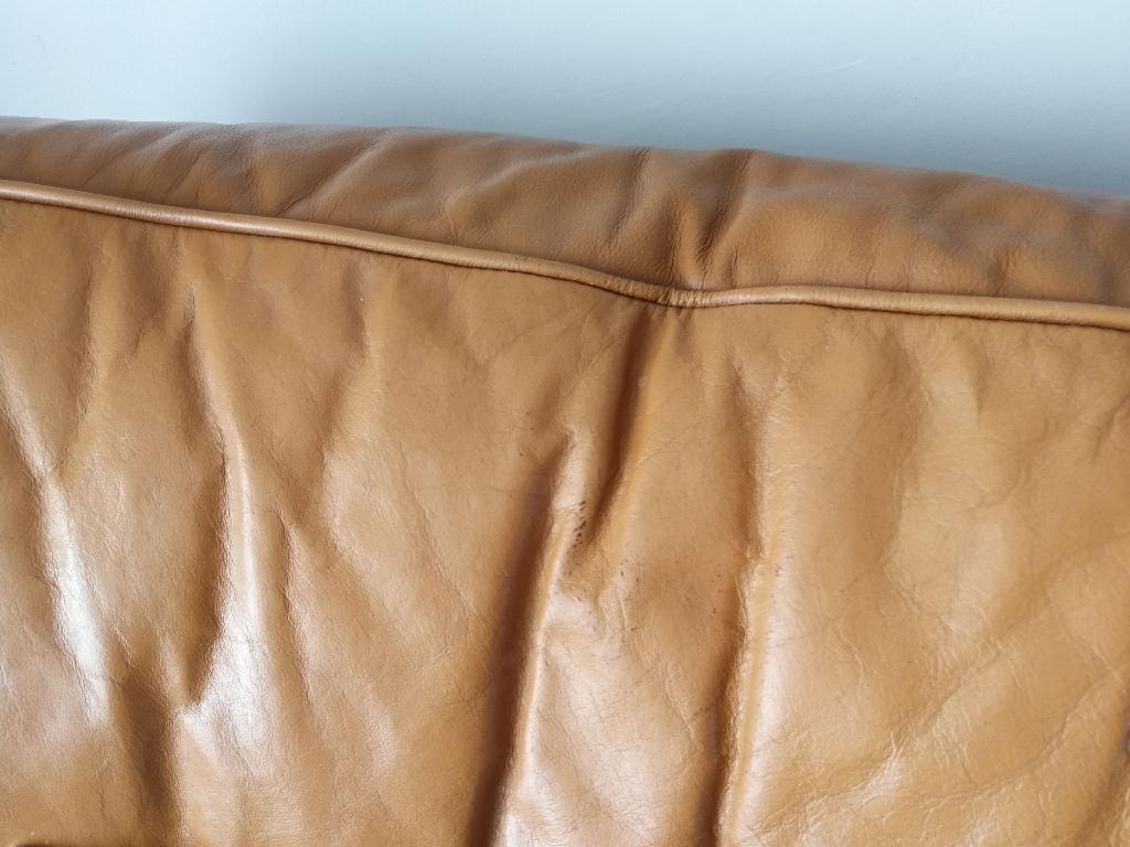 Leather Armchair mustard