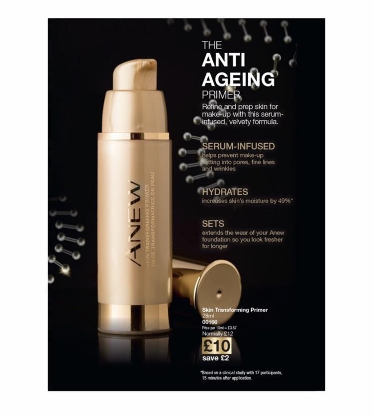 Anti ageing makeup