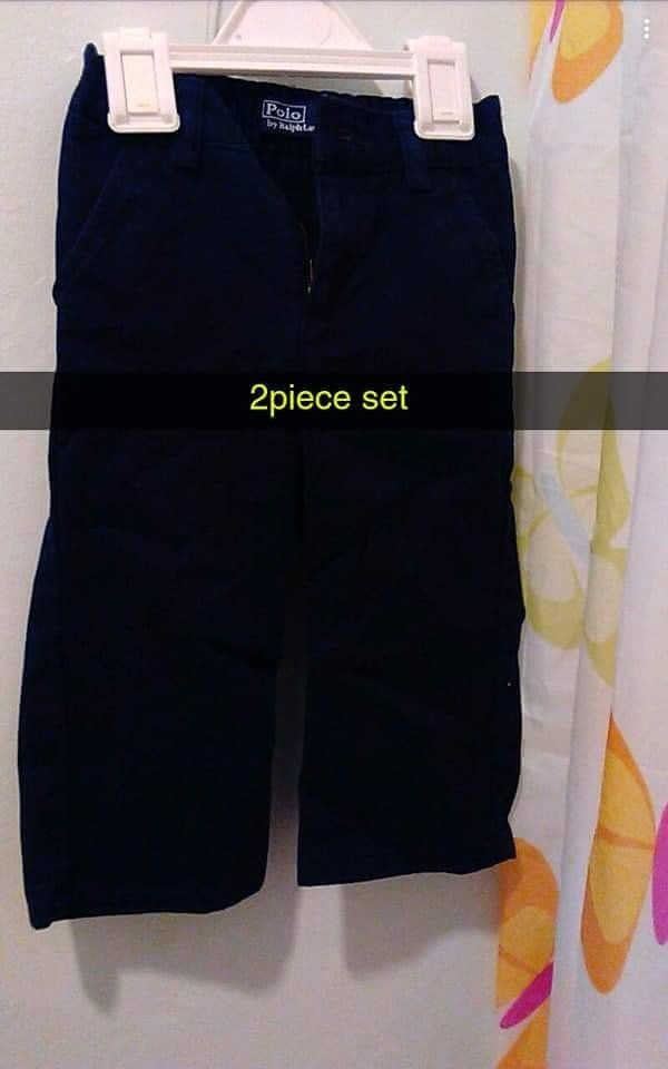 Ralph Lauren polo shirts and pants