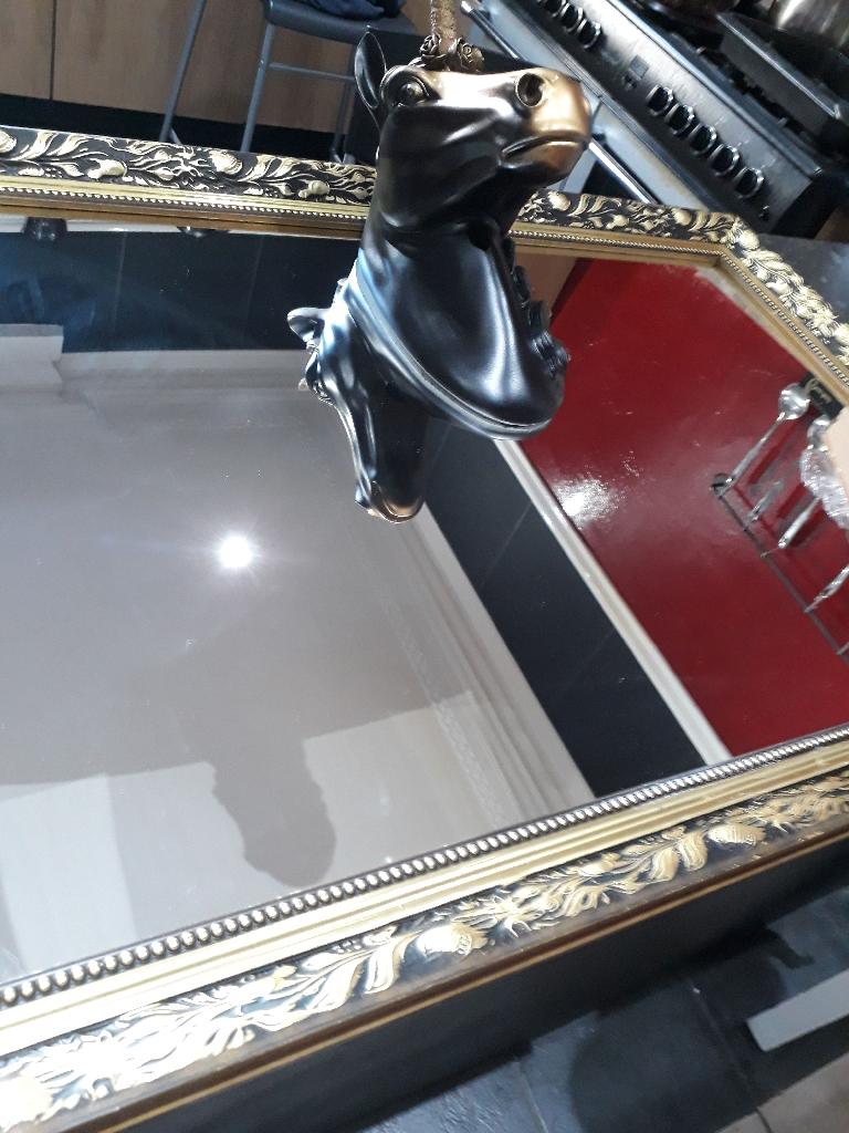 Bespoke unicorn mirror