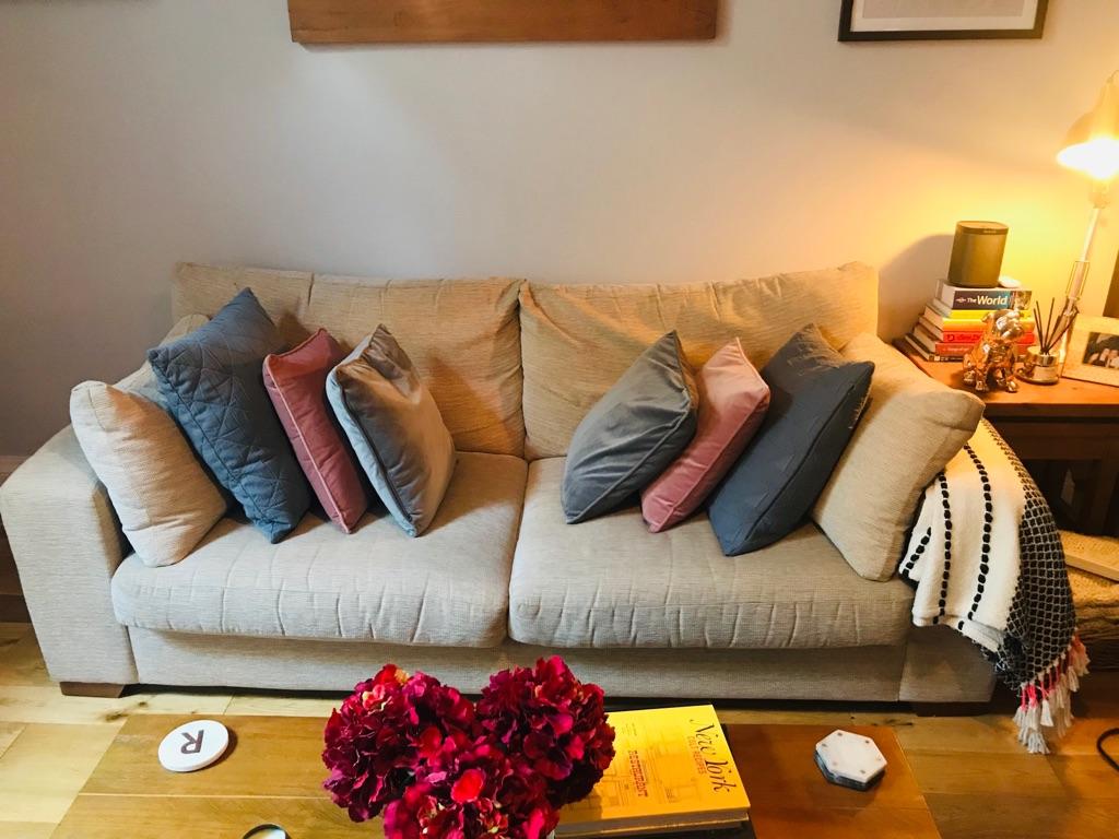 Extra large 4 Seat Next Sonoma Sofa