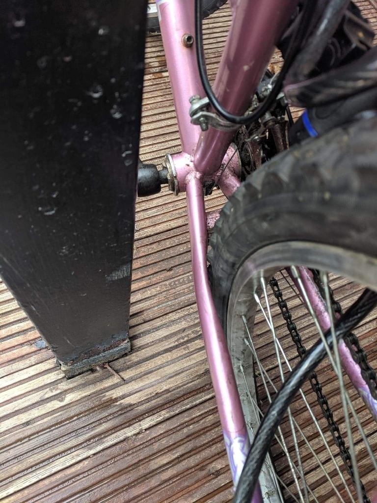Ladies bike need attention