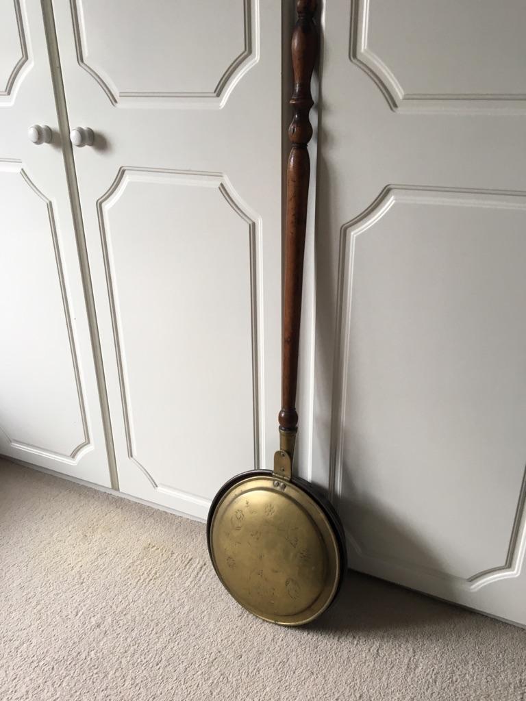 Antique Bed Warming Pan