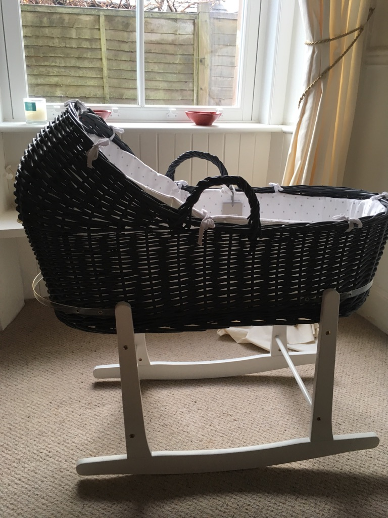 Mamas and papas Moses basket New Never Used