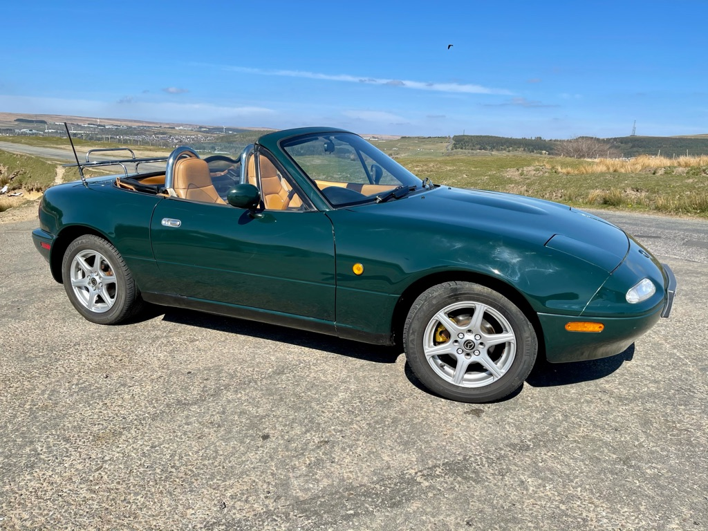 For sale sort after MK1 limited edition Mazda MX5 Eunos edition