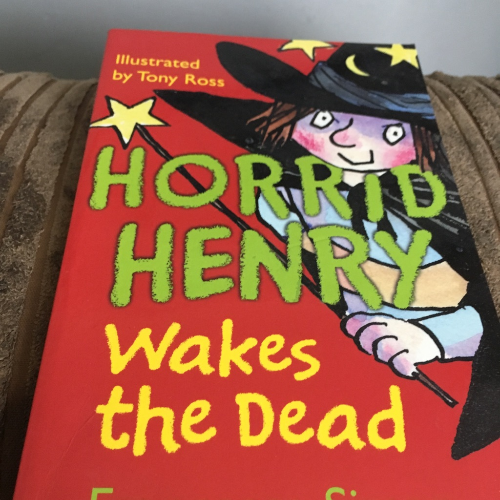 Horrid Henry wakes the dead book