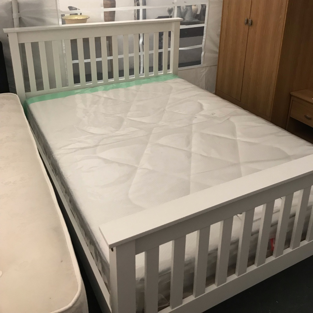 New Double Bed with mattress