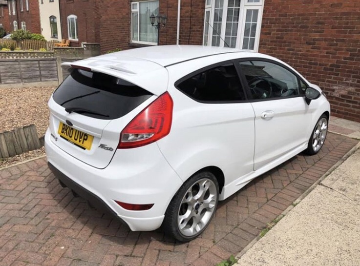 SOLD 2010 Ford Fiesta