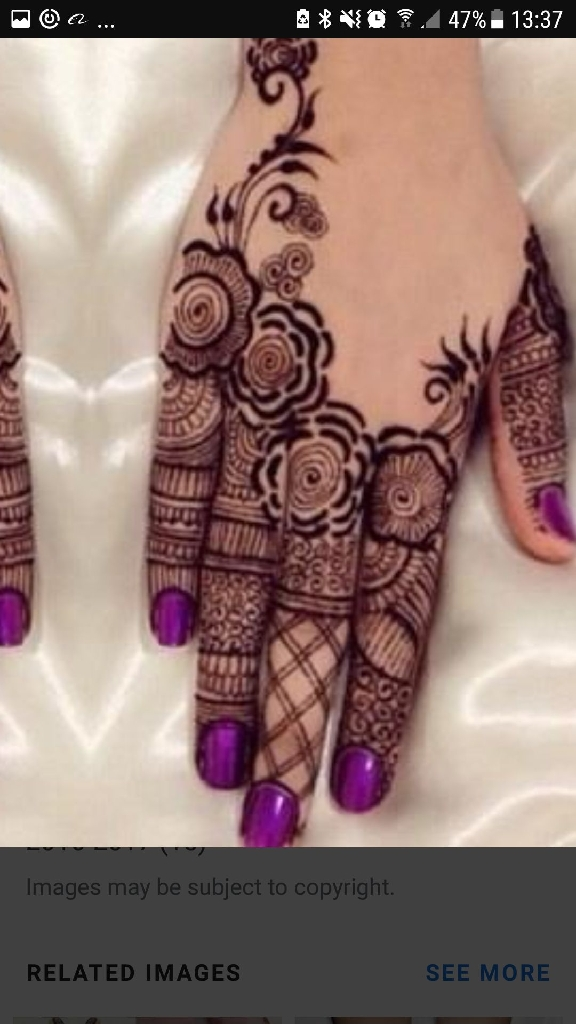 henna (mehndi)