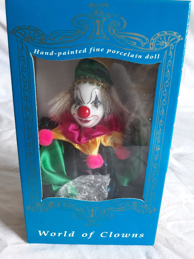Boxed World of Clowns collectable