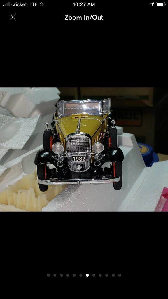 Franklin mint 1932 Chevrolet deluxe