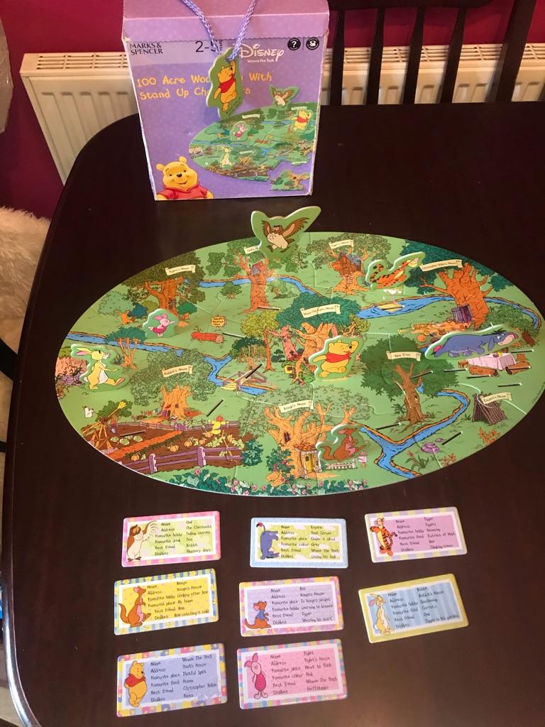 Children's Disney's Winnie The Pooh Jigsaw