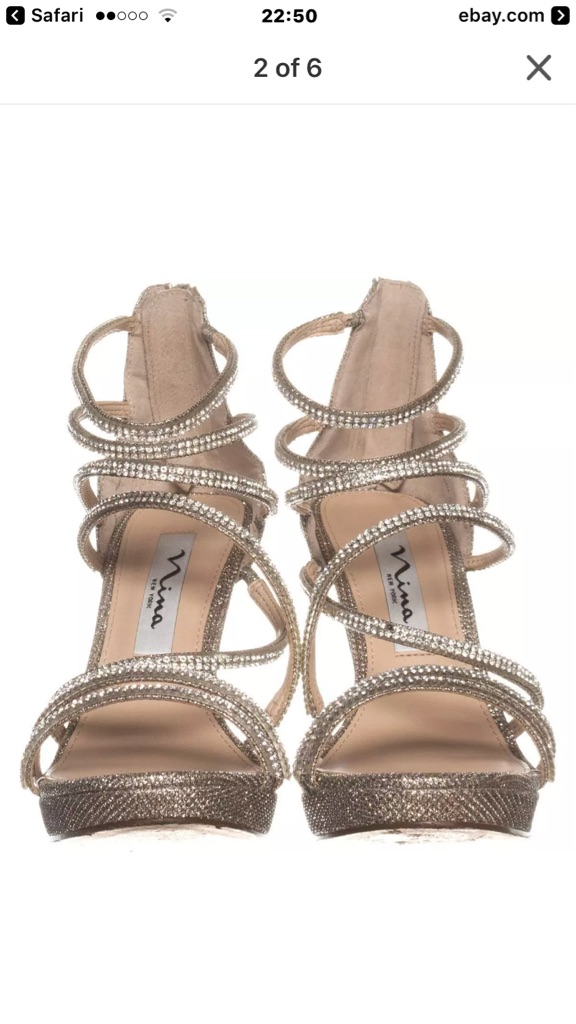 Nina designer Diamond/wedding heels