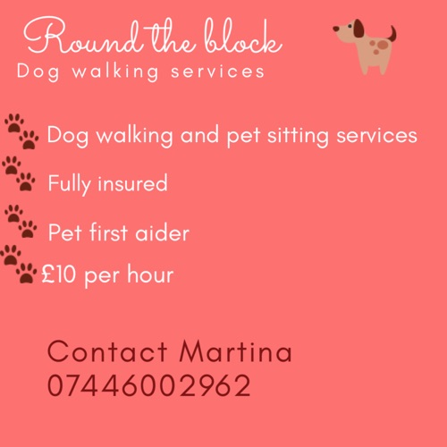 ROUND THE BLOCK DOG WALKING SERVICES