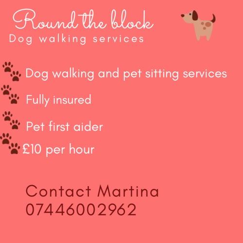 ROUND THE BLOCK DOG WALKING SERVICES