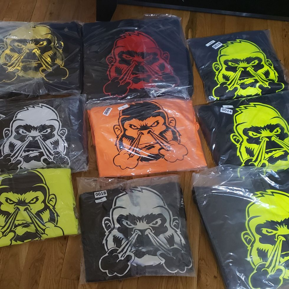Gorillalifestyle hoodies