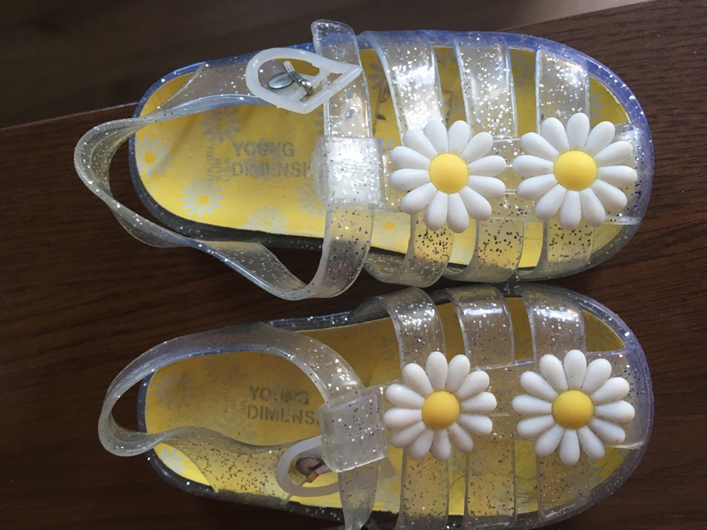 ee9870dc065b Daisy jelly shoes   peppa pig wellies