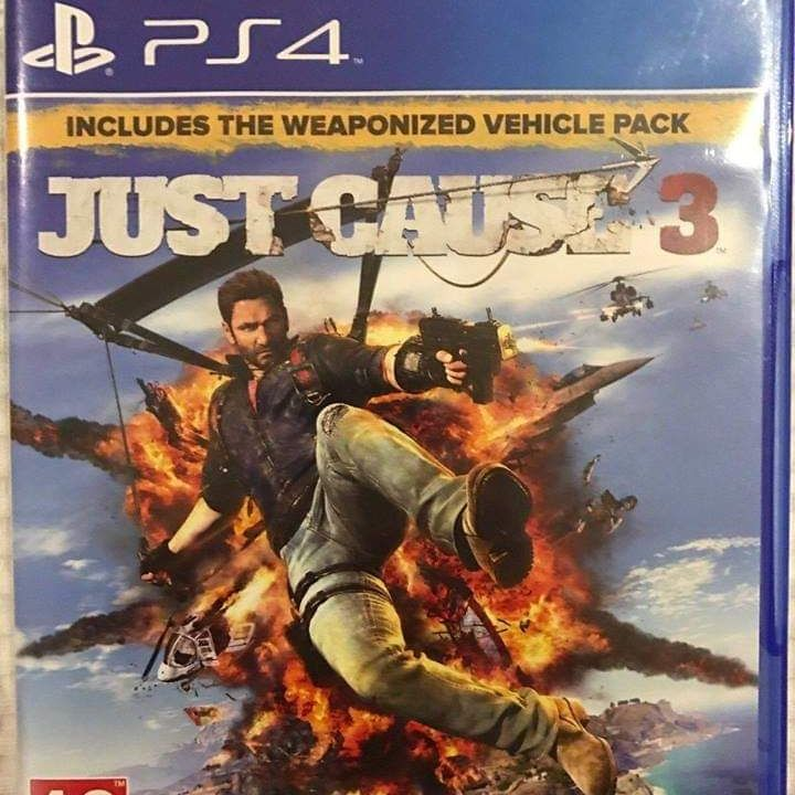 PS4 game - Just Cause 3