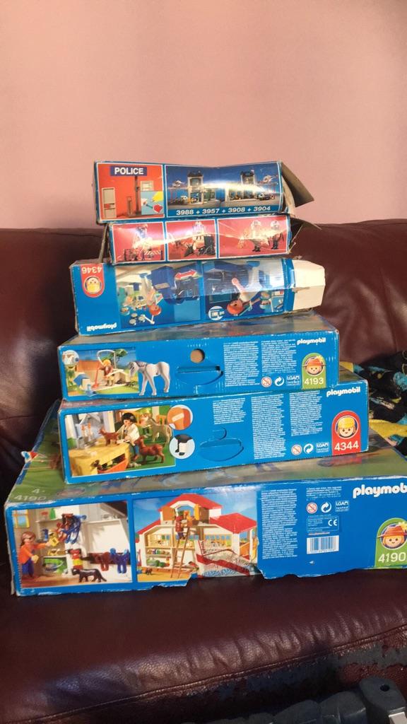 Huge amount of playmobil