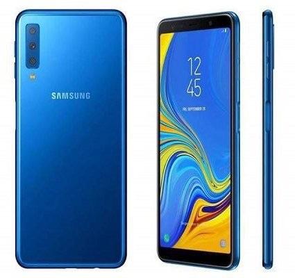 Samsung galaxy a7 blue