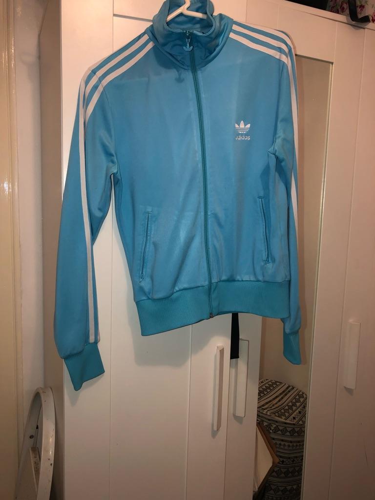 Baby blue Adidas