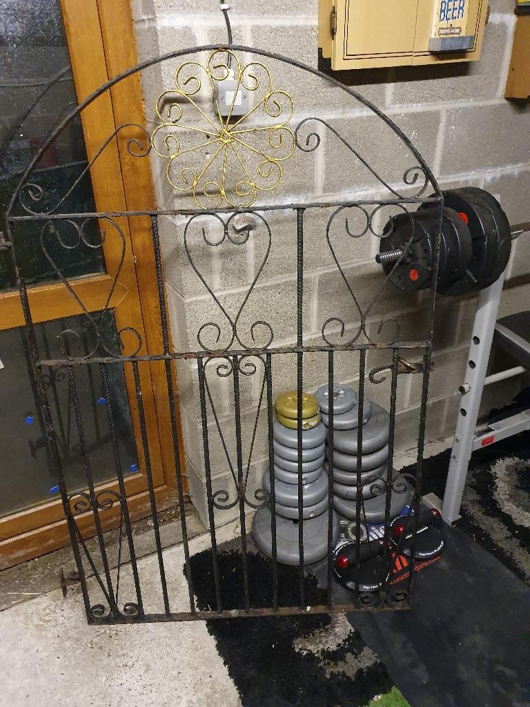 Large Heavy Iron Gate