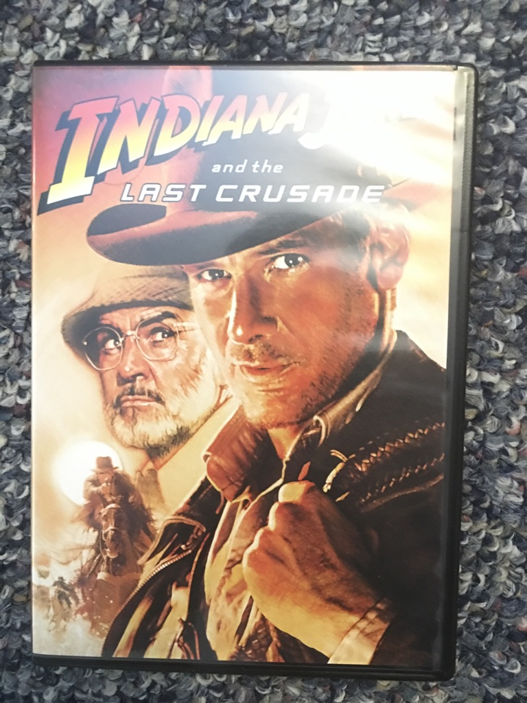 Indiana Jones the event your collection. A complete set of three DVDs