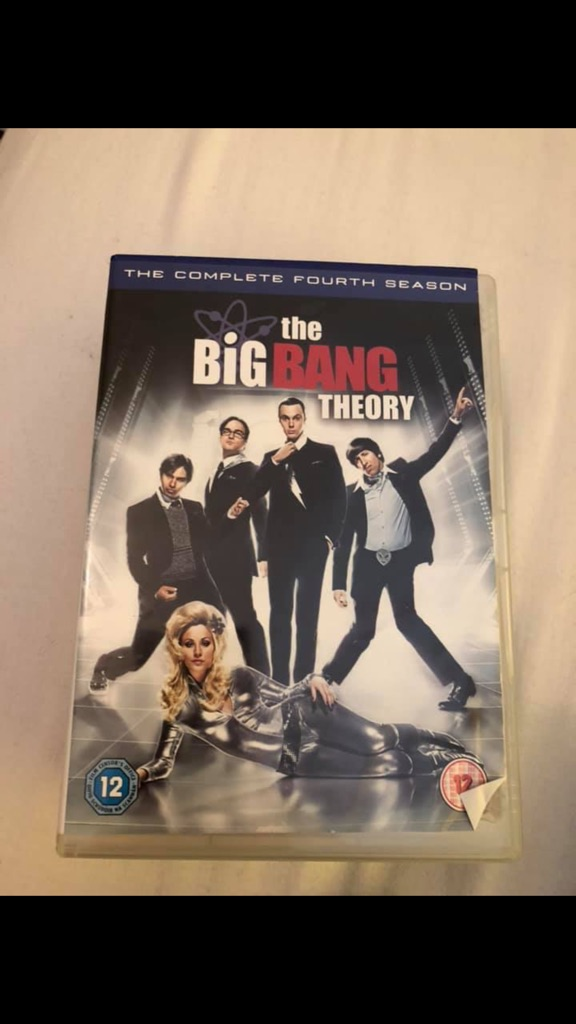 Big Bang theory DVD's
