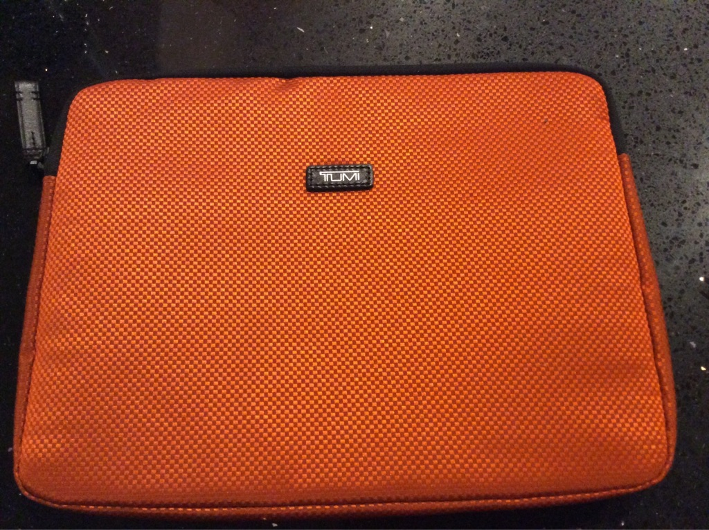 "TUMI 13"" case New!"