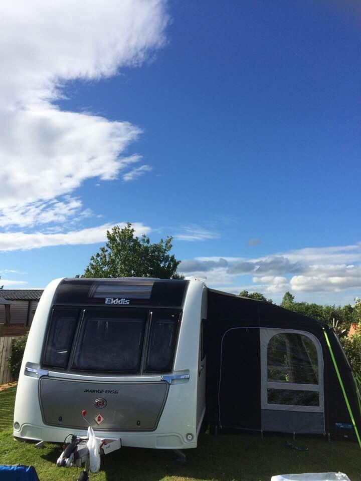 Elddis Avante Twin Wheeler 6 Birth Caravan