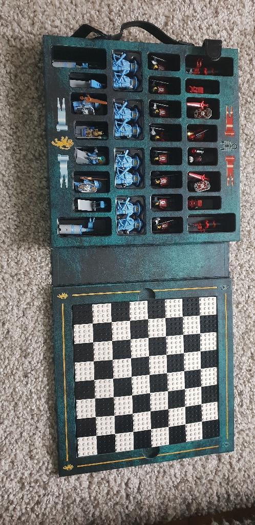 Lego Medieval Chess Set