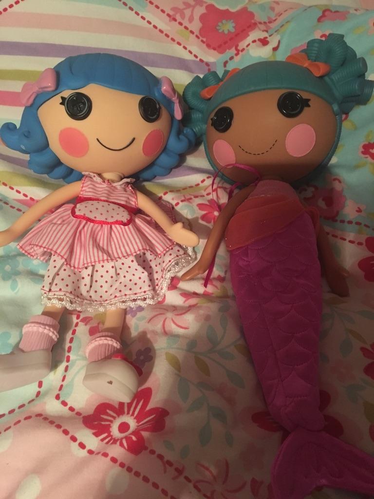 2 lalaloopsy big dolls